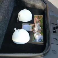 奥迪R8改装ACCUAIR气动避震后备箱造型设计