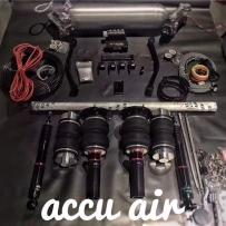 气动避震分享 宝马F30改装气动避震悬挂高度尺安装位怎么装