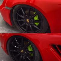 保时捷改装气动避震 降低车身姿态
