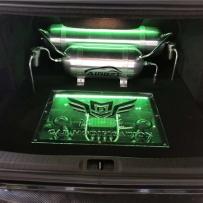 李洋讲述凯迪拉克ATS改装AIRBFT气动避震后备箱硬管造型美化