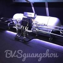 奔驰E-coupe改装ACCUAIR气动避震后备箱造型案例