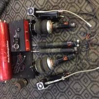 宝马F30二手气动件,因更换ACCUAIR,整套退下来了,优惠出了,D2基础版整套5000!