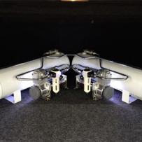 丰田皇冠 升级气动避震 完美打造气动避震造型 双打气泵 双气罐 把升降速度提高的更快