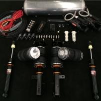 新款奥德赛气压避震ACCUAIR套件 新款奥德赛改装HF风格气压专用版SF绞牙避震定制皮囊