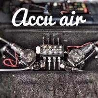 宝马3系F30改装ACCUAIR气动避震后备箱造型艺术