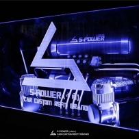 凯迪拉克XTS改装ACCUAIR气动避震后备箱造型案例