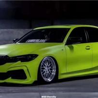BMW 3series G20低姿态改装 AIRBFT气动避震魅力打造帅气有型
