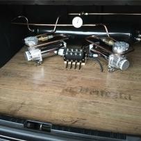 宝马E46安装ACCUAIR气动避震后备箱硬管造型 奢华的品质 卓越的稳定性