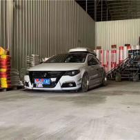 """""""最美大众汽车"""" 大众CC成功改装自由升降气动避震"""