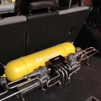 高尔夫7改装AIRBFT气动避震后备箱造型 南通XC.CLUB