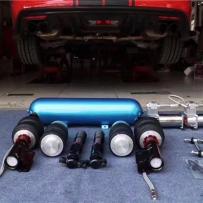 福特野马改装AIRBFT气动避震 低姿态改装首选品牌