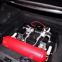 英菲尼迪G37改装AIRBFT气动避震后尾箱造型!