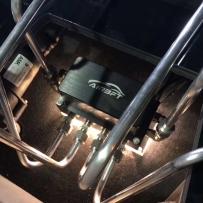 大众高尔夫4改装AIRBFT气动避震后备箱造型