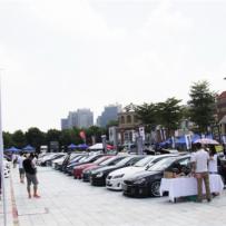 United Delta 2014广州珠江新城改装车聚会