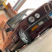 """""""经典就是勿忘""""BMW 5series E28气动避震案例分享 优雅的低姿态"""