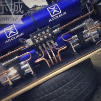 A6C6改装ACCUAIR空气避震后备箱造型 新疆赤城精工之作