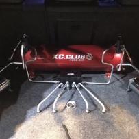 大众高尔夫6改装AIRBFT气动避震后备箱造型案例
