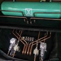 飞度GK5改装ACCUAIR后备箱造型