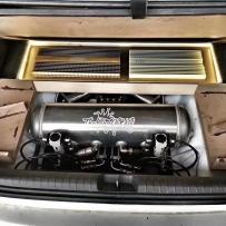八代思域改装ACCUAIR气动避震后备箱造型案例