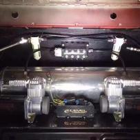奔驰W205改装ACCUAIR气动避震
