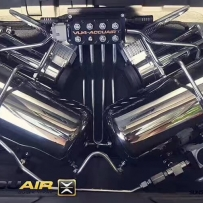 丰田普瑞维亚ACCUAIR气动避震后备箱造型设计