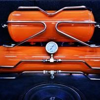 Polo/Cross 跨界车安装气动避震设计后备箱造型!