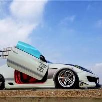劳恩斯酷派打造超跑风范 AIRBFT气压避震演绎绝美低趴