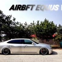 韩国代理分享现代雅科仕改装AIRBFT气动避震品牌使用设置方法
