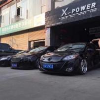 海南X-POWER汽车工程店气动避震案例分享