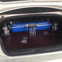 湖南佐道分享斯巴鲁BRZ安装ACCUAIR气压避震后备箱造型技术教程