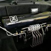 法拉利458改装ACCUAIR气动避震后备箱造型