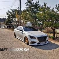 韩国代理分享现代劳恩斯DH改装AIRBFT气动避震品牌装车效果案例