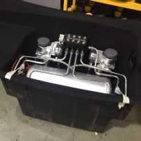 兰博基尼LP550安装ACCUAIR气动避震后备箱造型