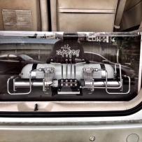 丰田埃尔法ACCUAIR空气避震后备箱造型设计 BVS出品