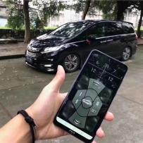 广州信仰车房:新款奥德赛改装AIRBFT气动避震施工作业