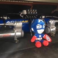 锐志ACCUAIR空气避震后备箱造型案例