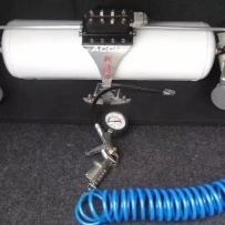 大众速腾改装ACCUAIR气动避震后备箱造型设计