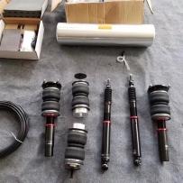 奥迪A7改装气动避震造型设计中 期待效果