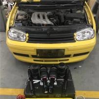温州BVS施工 大众高尔夫4气动避震装车选用AIRBFT高性价比