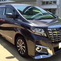 丰田埃尔法安装新款ACCUAIR/ENDO-VT45罐阀一体式气动避震施工案例