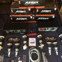 转让86/BRZ车型AIRREX气动避震减震一套 四轮独立 三段记忆 东西完好无损15000出售