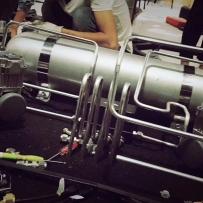 宝马X1改装AIRBFT气动避震后备箱造型案例