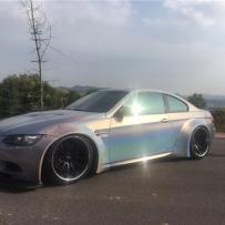 东豪车业分享:宝马E92M3改装ACCUAIR新款ENDO罐阀一体奢华品质的展现