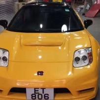 澳门本田NSX-GT使用KW避震定制专车专用气囊搭配新款ACCUAIR/ENDO-VT23阀瓶一体