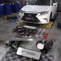雷克萨斯混动ES300H改装ACUAIR气动避震 即将装车 施工方法 施工技巧