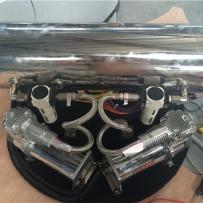 大众polo改装ACCUAIR造型展示 大众POLO改装气动避震造型施工细节 polo后备箱造型设计