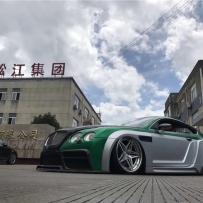 气动避震李洋:宾利欧陆GT改装ACCUAIR新款ENDO-VT45罐阀一体及奢华后备箱造型爆改宽体