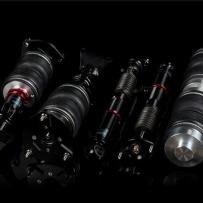 奔驰W204气压避震改装选择专用的桶身效果魅力展示
