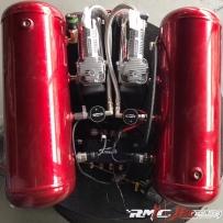 马自达6改装AIRBFT气动避震 双泵双罐造型 狂飙俱乐部