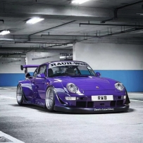气动避震李洋分享中井先生RWB Porsche 993 ACCUAIR 气动避震精品案例